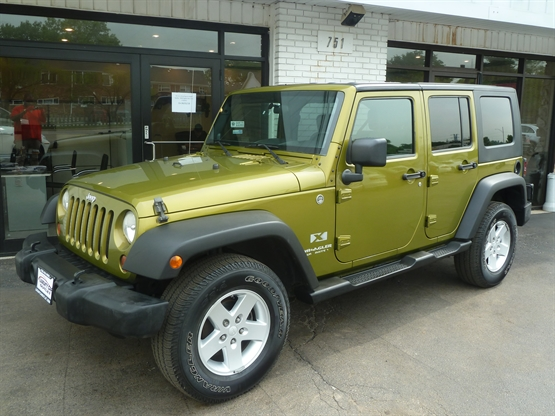 2008 JEEP Wrangler Unlimited X 4x4